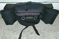 VTG 1994 JANSPORT FANNY PACK HIKING WAIST PACK WATER BOTTLE HOLDER MADE IN USA