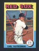 1975 Topps #280 Carl Yastrzemski NM/NM+ Red Sox 124301