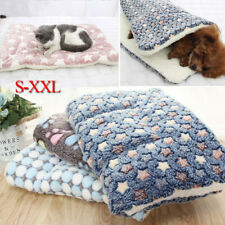 Thick Soft Flannel Cushion Pet Mat Cat Bed Sleeping Pad Dog Blanket HOT~