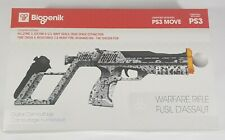 Biogenik PS3 Move Digital Camouflage Controller Warfare Rifle PlayStation 3 NIB