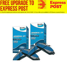 Bendix GCT Front and Rear Brake Pad Set DB1004-DB1046GCT fits Ford Fairmont X