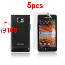 5X Ultra HD Clear Screen Protective Guard film For Samsung Galaxy S2 i9100 SII