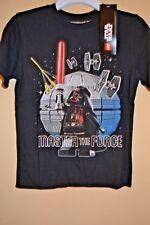 Lego Star Wars/Vader-Boys Size 5/6-Master The Force-Licensed Short Sleeve-Nwt