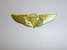 a0175 WW2 OSS Office Strategic Chinese Commando Paratrooper Jump wing gold R12E