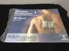 Aqua Guard Moisture Barrier, Latex Free, 10 X 12 5 ea Shower Protection
