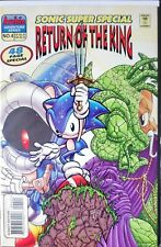 Sonic The Hedgehog Super Special Comic Book 1998 #4 Return Of The King