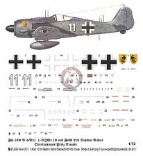 Peddinghaus 1/72 Fw 190 A-6/R11 w/Neptun Markings Fritz Krause 1./NJGr 10 2606