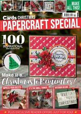 Making Cards Christmas Spec 2017 Magazine100 Card Projects STAMPS Papers