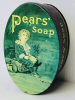 Replica - Pears Oval Shaped Soap Tin [England] Great Condition