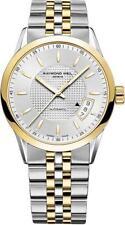 Raymond Weil 2770-STP-65021 Freelancer 2-Tone Silver/Gold Bracelet Watch - BNIB