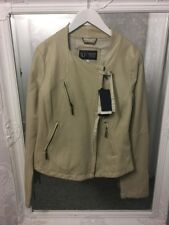 Women's Armani Jeans Leather Jacket - ~Eur 42 (size 14 more like UK 10/12)