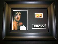 ROCKY Framed Movie Film Cell Memorabilia - Compliments poster dvd book boxing