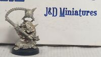 GW Warhammer Fantasy Skaven Chaos Ratmen Plague Monk Censer Bearer 1 1993 Metal