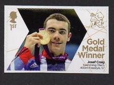 2012 SG 3399 Josef Craig - Swimming - Paralympic Games Gold Medal Winner