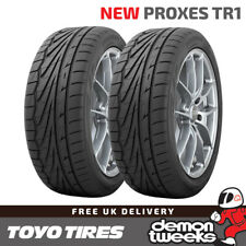 2 x 195/55/15 R15 85V XL Toyo Proxes TR-1 (TR1) Road Tyres - 1955515 New T1-R
