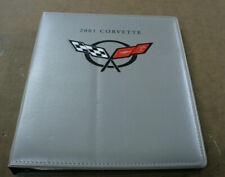 2001 Corvette Padded Press Kit