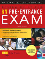 RN Pre-Entrance Exam by National League for Nursing Staff (2008, Paperback, Revi
