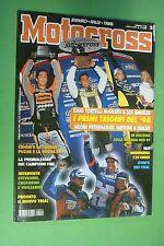 MOTOCROSS 2 FEBBRAIO 1998 HUSQVARNA CR 125 YAMAHA YZM 400 F SCORPA EASY 280