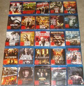 Blu Ray Paket Sammlung 25 Stück mit über 30 Filme FSK 18 NEU (4)