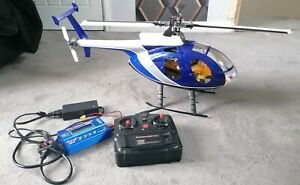 Hughes 500e R/C Scale Helicopter RARE Collectable Untested MD500