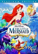 The Little Mermaid (DVD, 2006, 2-Disc Set, Platinum Edition)  Factory Sealed!