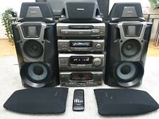 Technics SA-EH600 Stereo Hifi Separtes Stack System Speakers + Remote VGC