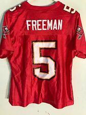 Reebok Women's NFL Jersey Tampa Bay Buccaneers Josh Freeman Red Fashion sz S