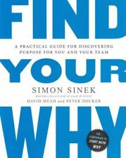 Find Your Why by Simon Sinek NEW
