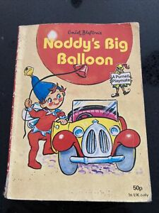 Enid Blyton's Noddy's Big Balloon Published by Purnell Books paperback 1979 1982