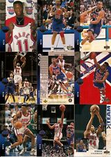1994-95 UD Upper Deck New Jersey Nets Complete Team Set (12)