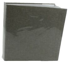6'' x 4'' Memo Slip-In Photo Album Holds 140 Photos Photographs LINEN GREY