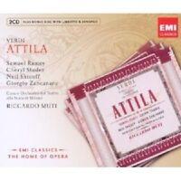 MUTI/RAMEY/STUDER/SHICOFF/+ - ATTILA 2 CD + CD-ROM OPER KLASSIK NEU VERDI