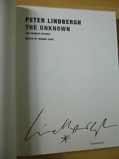 "Peter Lindbergh Autogramm signed Katalog ""The Unknown"""