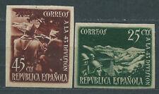 España II República 1938 Edifil 787A/8A * Mh