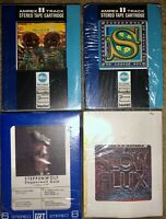 "LOT OF 4 STEPPENWOLF 8-TRACK TAPES FOR LADIES ONLY ""7"" GOLD SLOW FLUX LOOK!!"