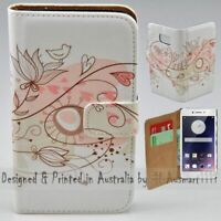 For OPPO Series - Retro Floral Theme Print Wallet Mobile Phone Case Cover