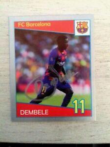 Ousmane Dembele Barcelona F.C.CHAMPIONS LEAGUE 2019-20  ABE-PRO MONT