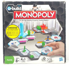 Monopoly U-Build Hasbro Board Game - Complete - some components still sealed