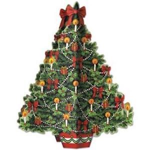 3-D Christmas Tree Centerpiece Christmas Winter Decoration