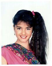 Danica McKellar Wonder Years Teen Star Winnie Cooper Pose Vintage Color Photo