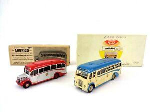 White Metal Bus Kit Bundle Model Bus Company MBC Burlingham & Anbrico Bedford