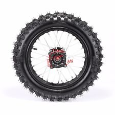 80/100-12 Wheel 1.85-15 rim 3.00-12 Tire/Tyre Thumpstar Atomik Pitpro Dirt Bike