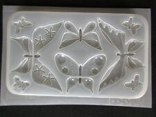 Resin Mold Butterflies 8 Designs Butterfly Pendant Jewelry Chocolate Fondant