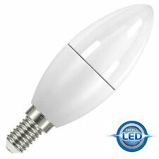 3x PowerSave 6w LED Small Screw Cap SES E14 Candle 2700k Warm White 40w s8228