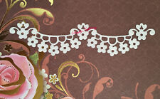 NEW ✿ Scallop Loop Lace Flower Border Edge Die ✿ For Cuttlebug Sizzix ✿