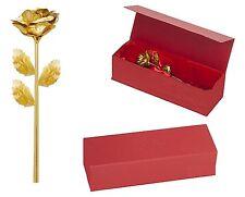 Goldene Rose für Ewige Liebe Muttertag Hochzeit Verlobung Jahrestag Geschenk