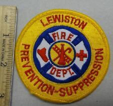 LEWISTON FIRE DEPARTMENT PATCH - #FC88
