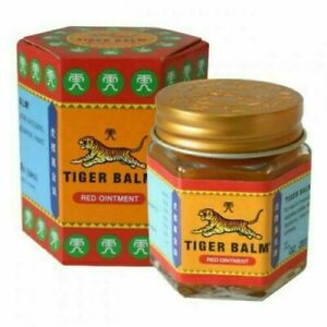 10 X Tiger Balm Red Ointment Effective relief muscular Pain & Sprains 21ml each