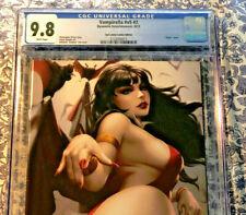 Vampirella #2 CGC 9.8 Kendrick Kunkka Lim Exclusive Virgin Variant 1 of 500 HOT!