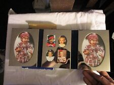 Triple Slide On Photo Frame 4x6 Photos International Silver Company Silver Tone